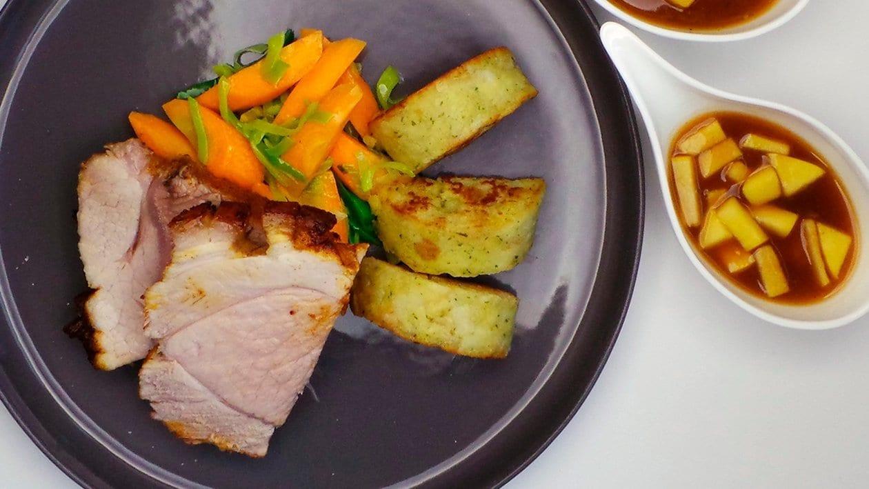 Jungschwein/Karotten/Lauch