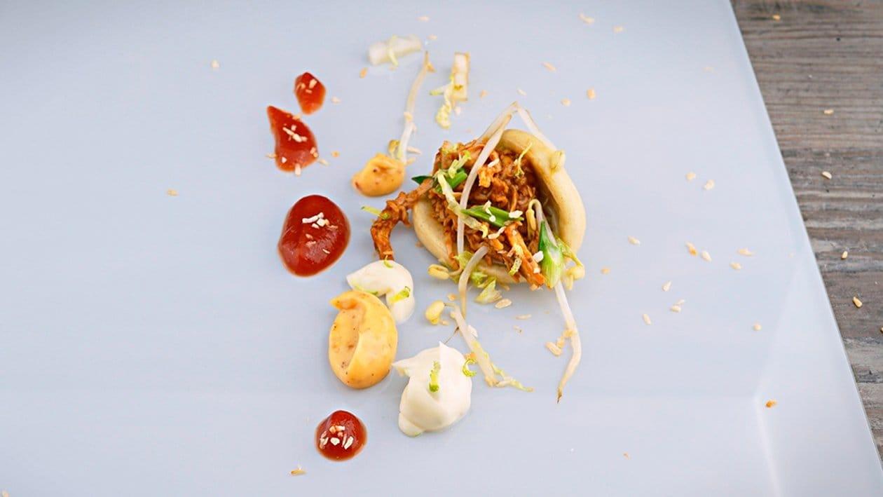 Pulled Chicken im Bao Bun