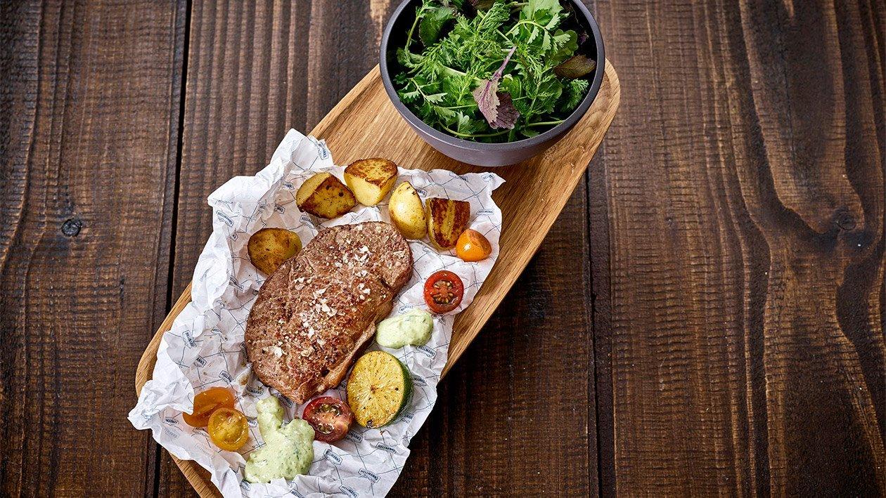 Roastbeef mit Chimichuri Mayonnaise