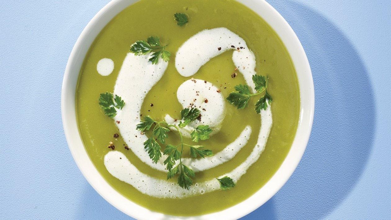 Kartoffel-Erbsen-Suppe
