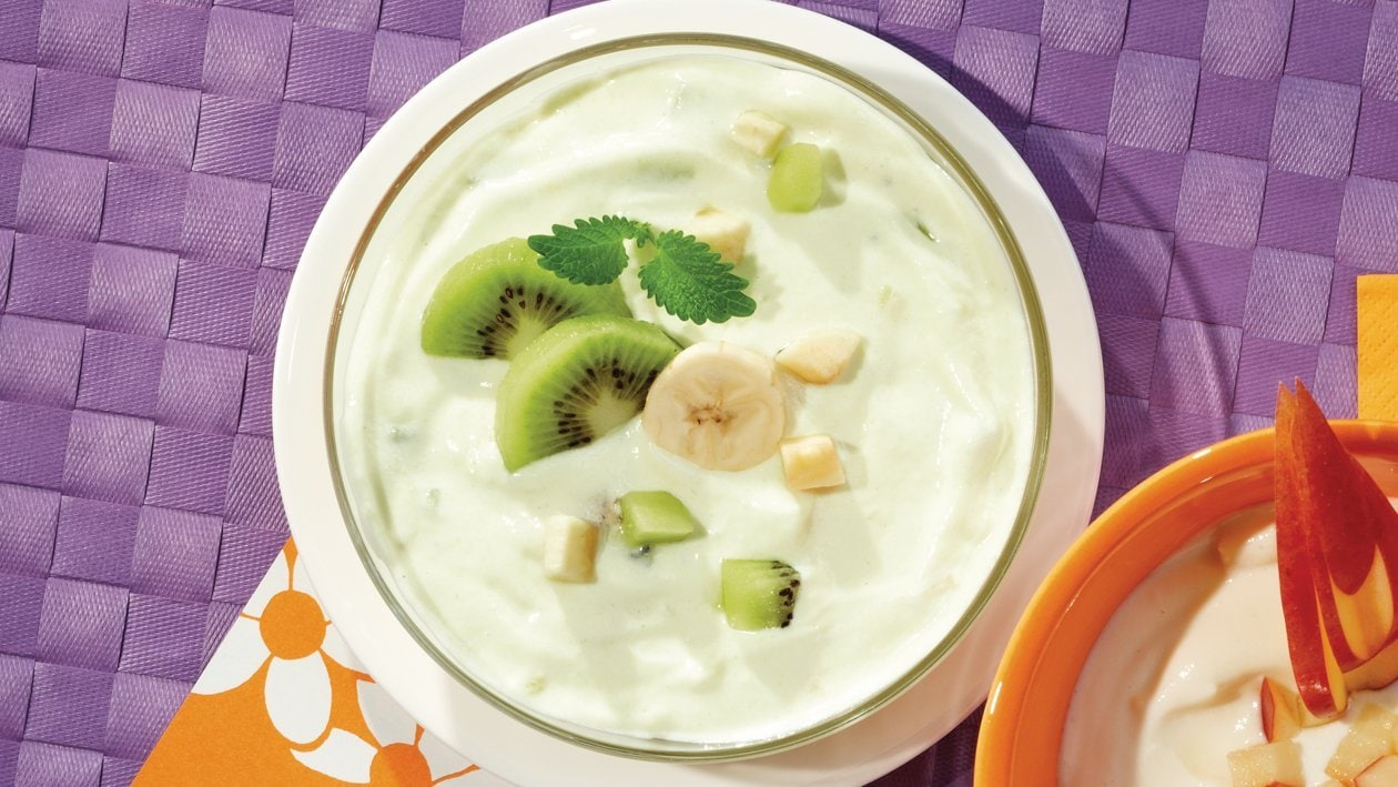 Kiwi-Bananen-Joghurt