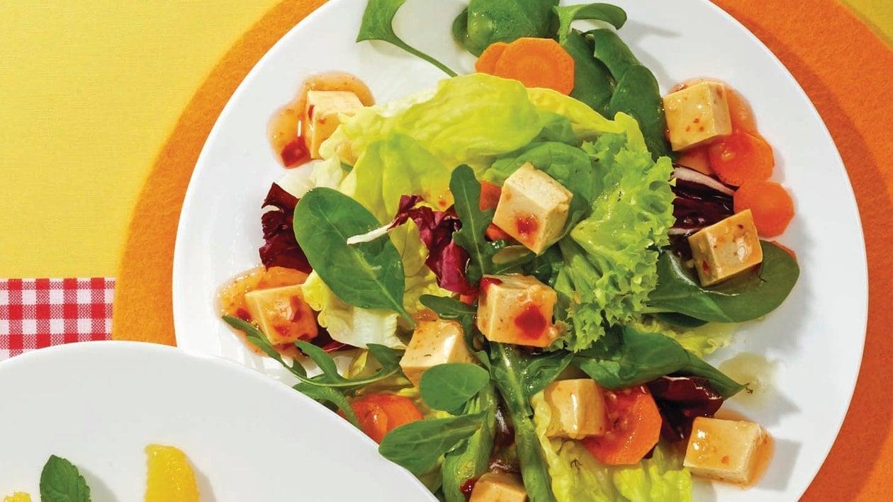 Beilagensalat mit Kräuter-Dressing