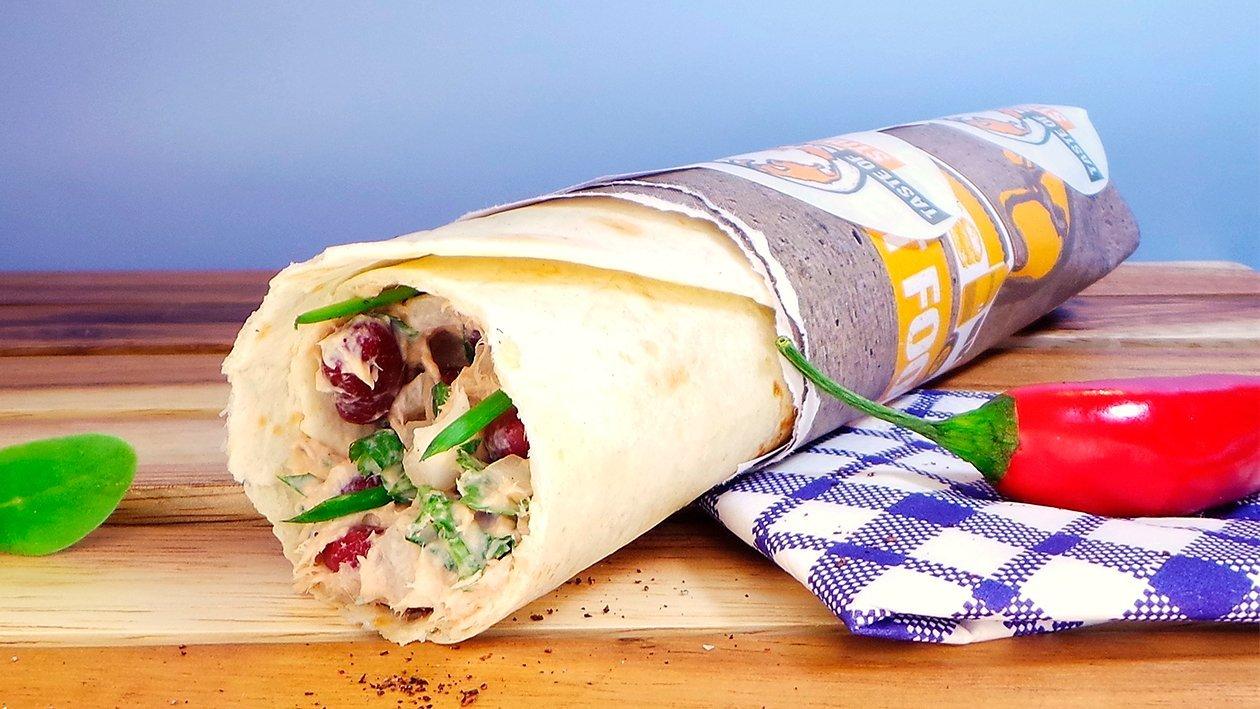 Bohnen - Thunfisch - Wrap