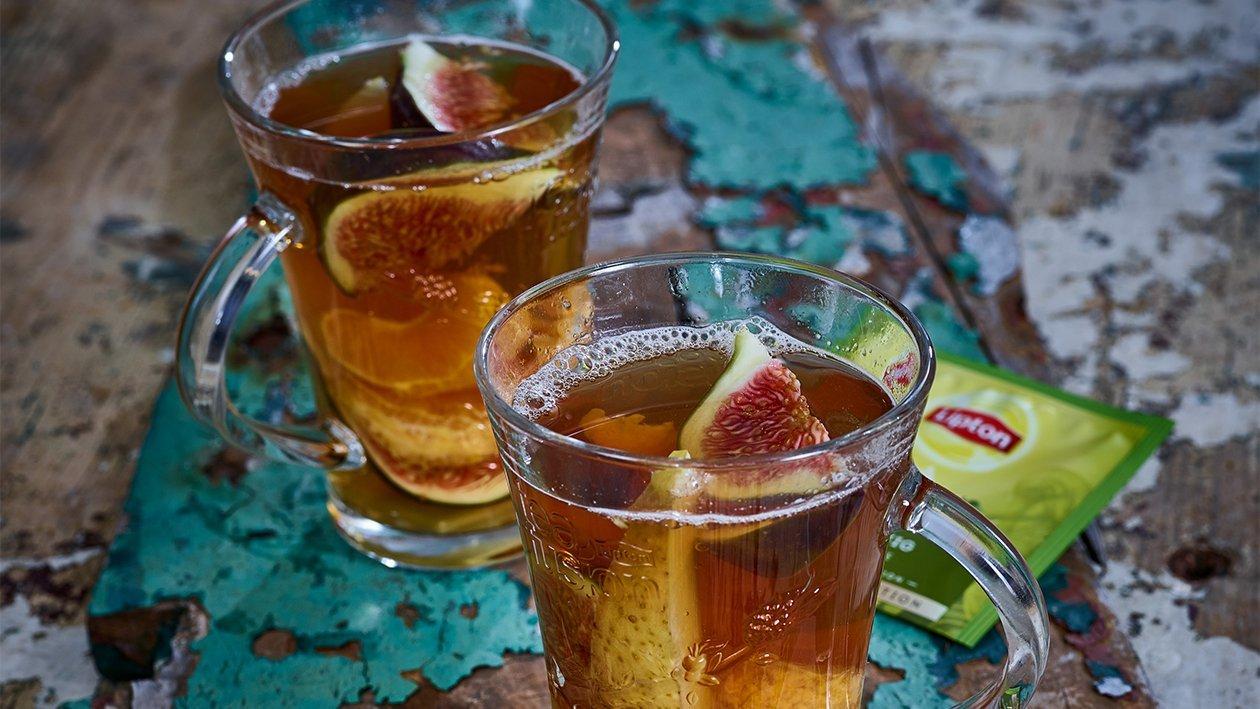 Hot Sparkling Refreshing Lemon