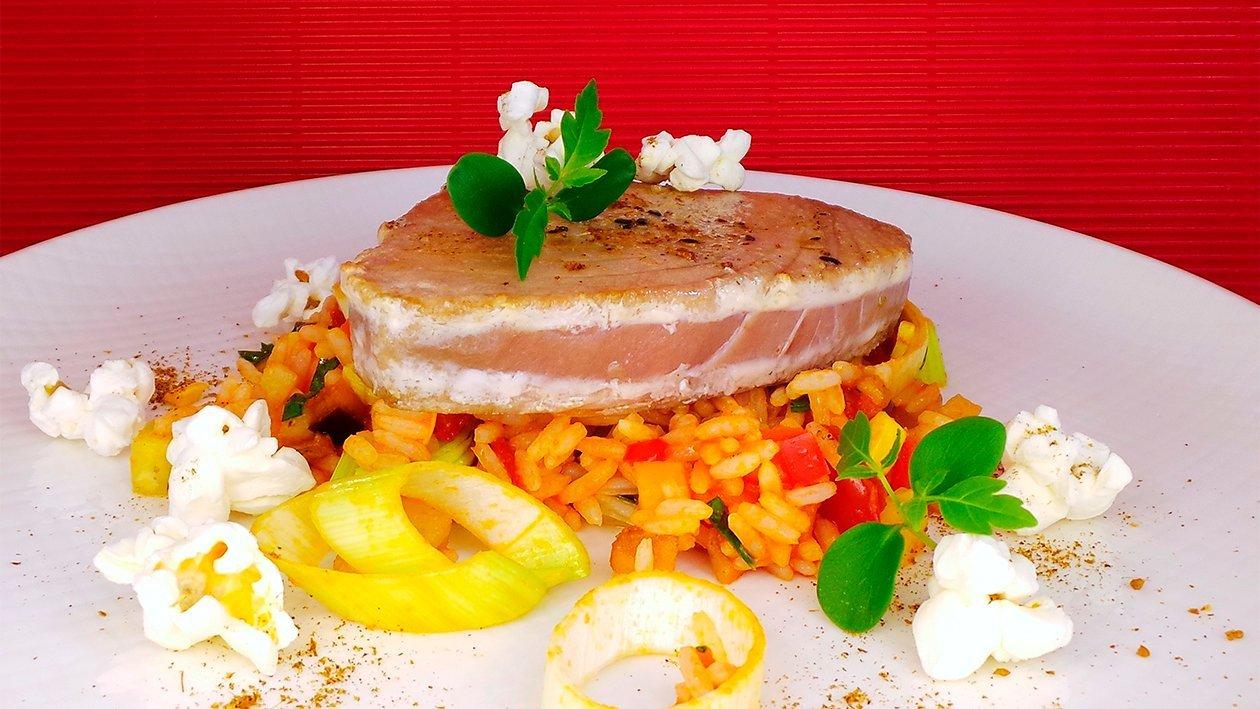 Arroz con Atun - Reis mit Thunfisch