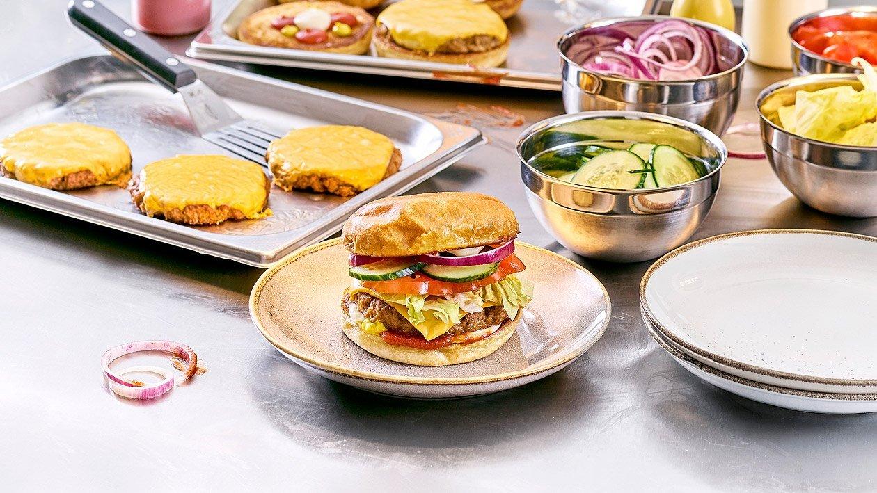NoBeef Classic Burger