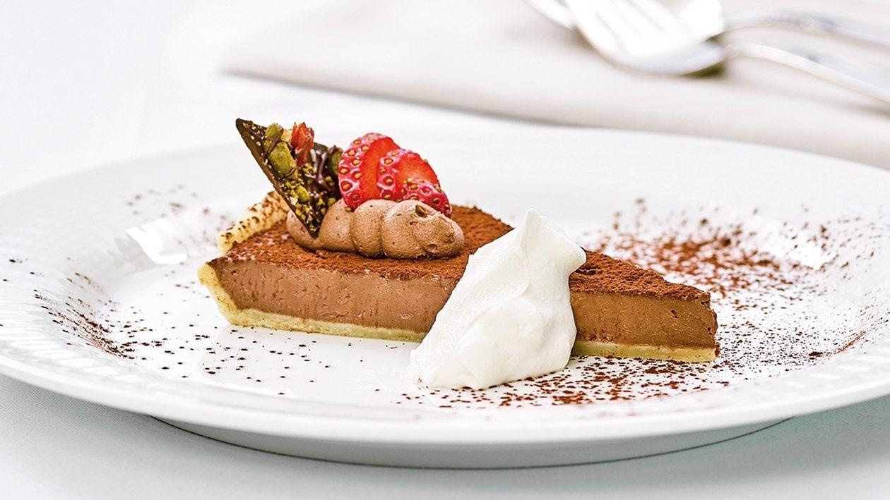 Schokoladen-Erdbeeren-Tarte