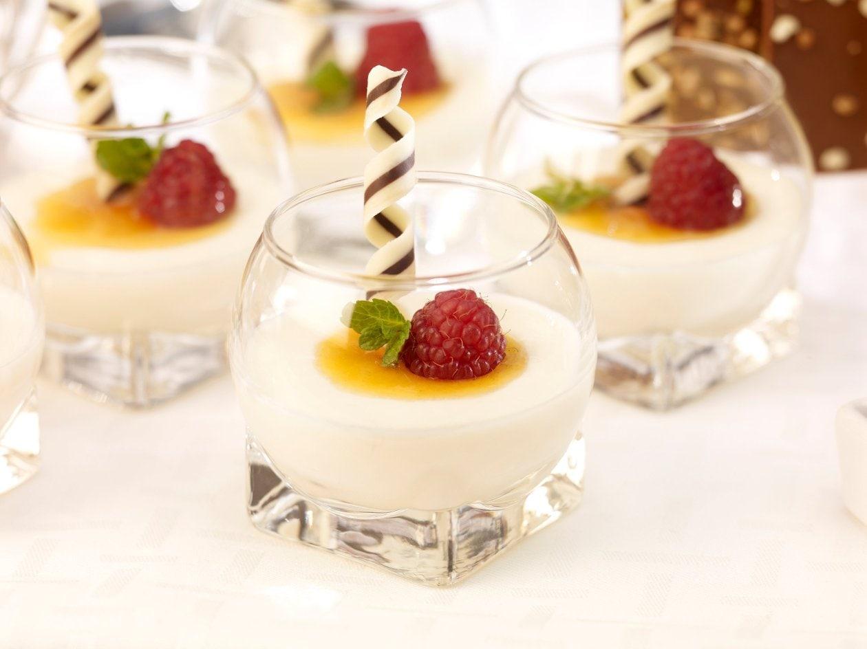 Panna Cotta mit griechischem Joghurt