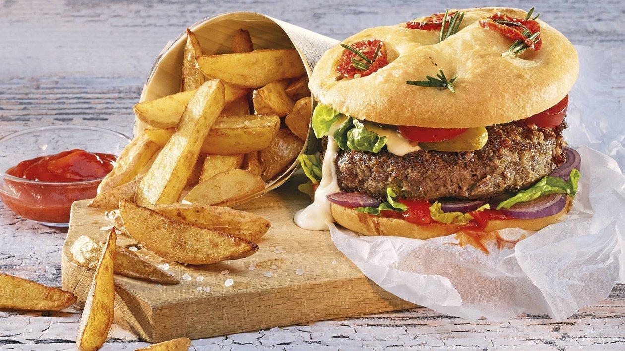 Burger Fleisch