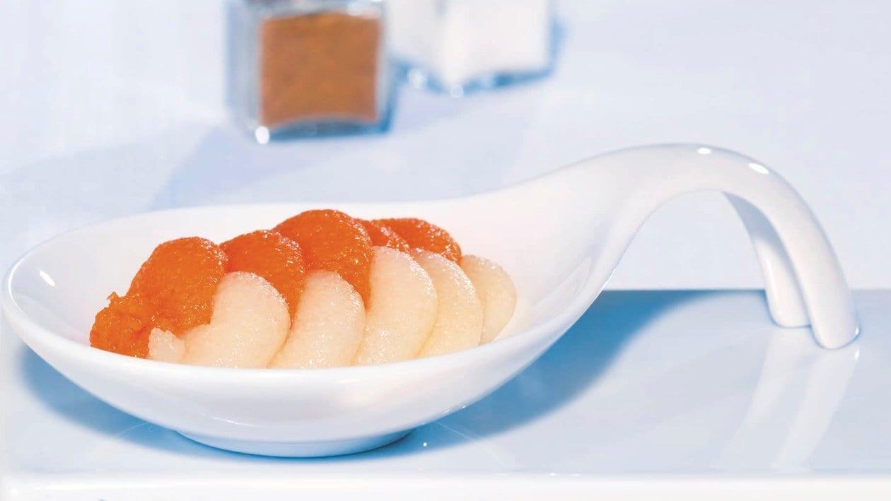 Karotten-Sellerie-Salat püriert