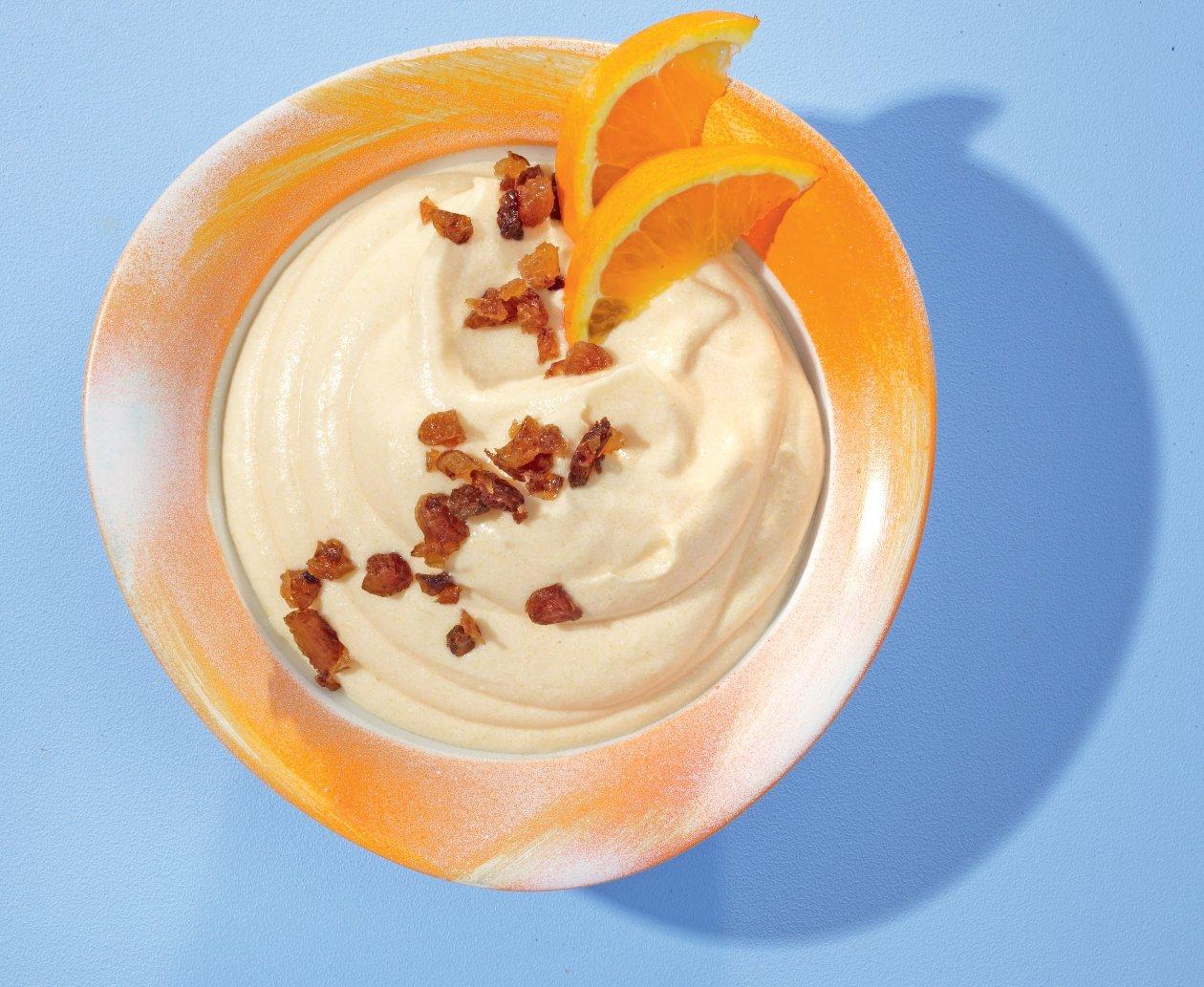 Orangen-Buttermilch-Creme