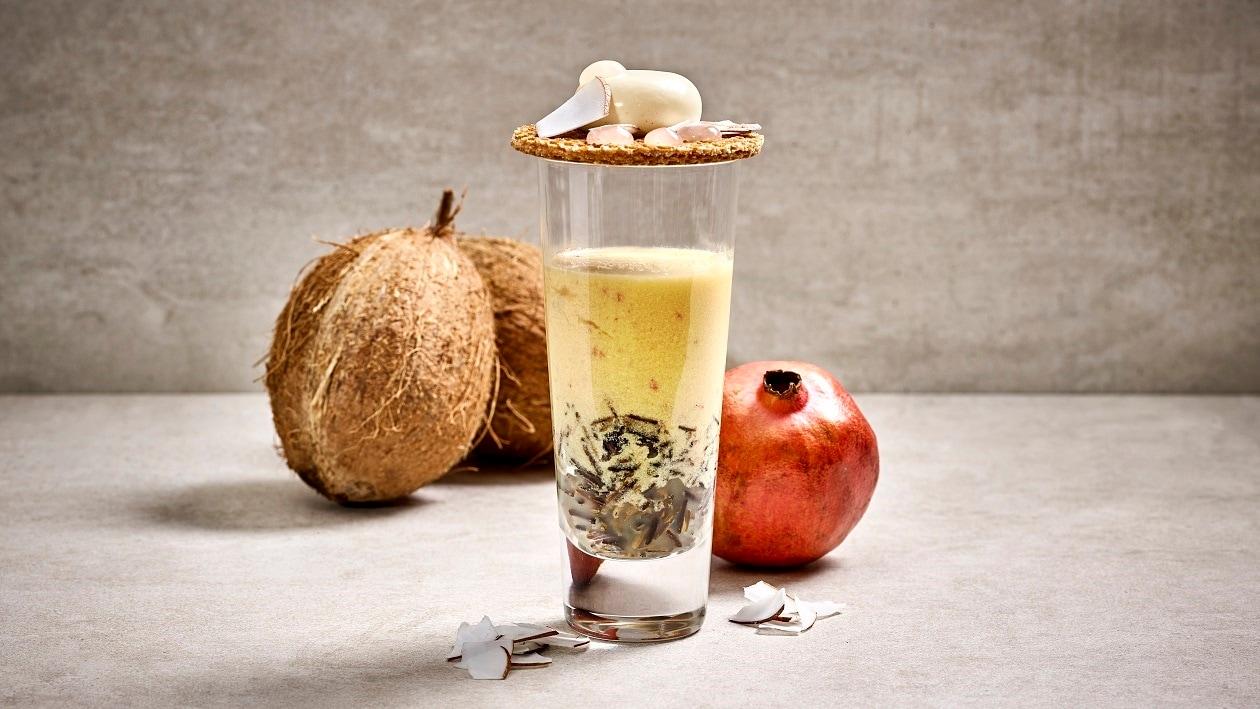 Ananas-Kokos Smoothie mit Wildreis