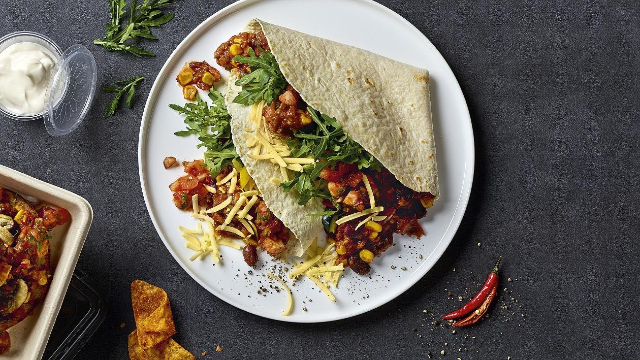 Chili Con Salsa Open Wrap