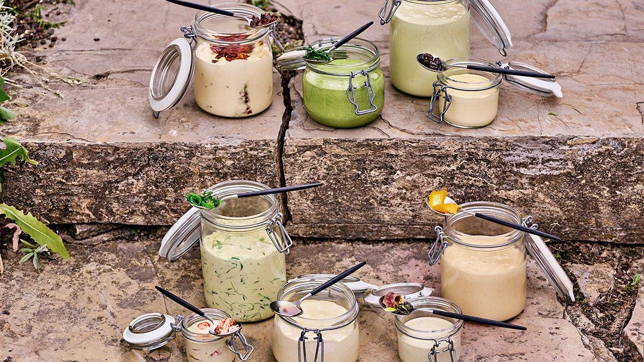 Cremige Sardelle, Kaper und Zitrone